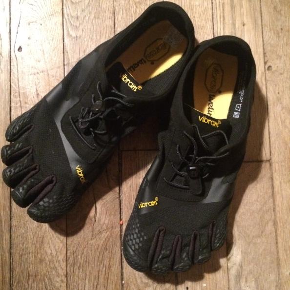 Les souliers de peau : Test des Vibram Five Fingers KSOEVO